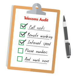 telecom audit checklist